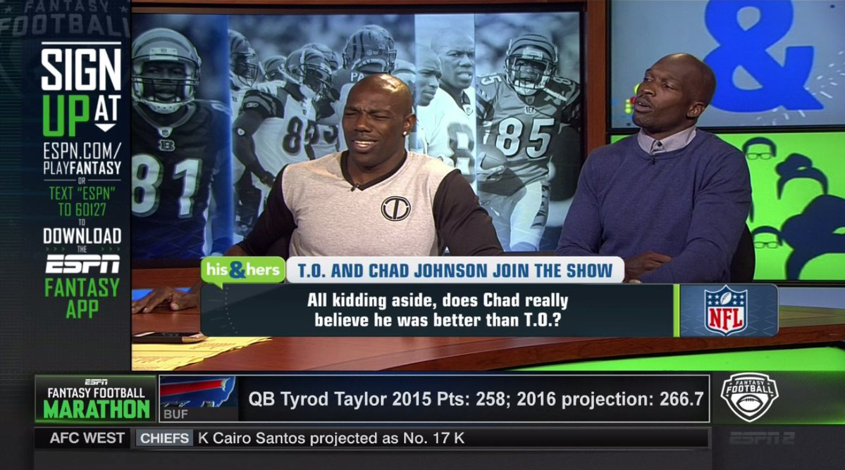 Chad Johnson and Terrell Owens
