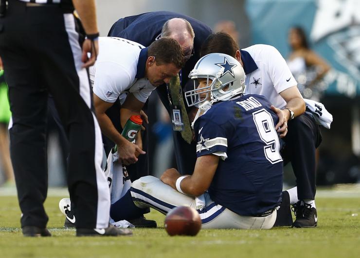 Tony Romo Injured