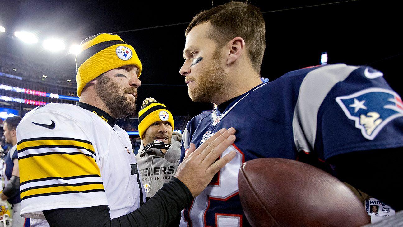 Tom Brady vs Ben Roethlisberger