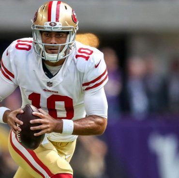 The continued education of Jimmy Garoppolo