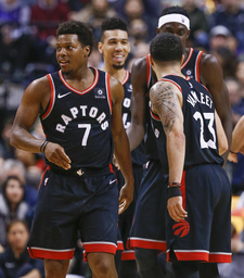 The Raptors win with depth, vets and gambles